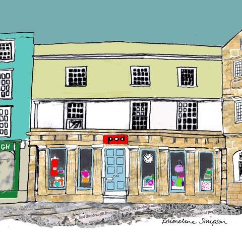 Pod Oxford Shop